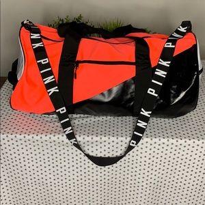 Victoria's Secret Neon Duffle Bag